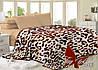 Плед велсофт 200*220 Леопард микрофибра
