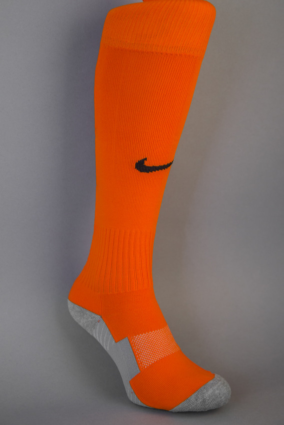 Гетры футбольные  NIKE TEAM STADIUM (реплика) оранжевые.