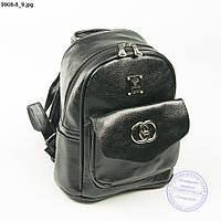 Качественный прогулочный рюкзак из эко-кожи  - 9908-8