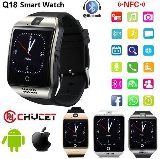 Умные часы телефон Smart Watch Q18 ( розумний годинник)