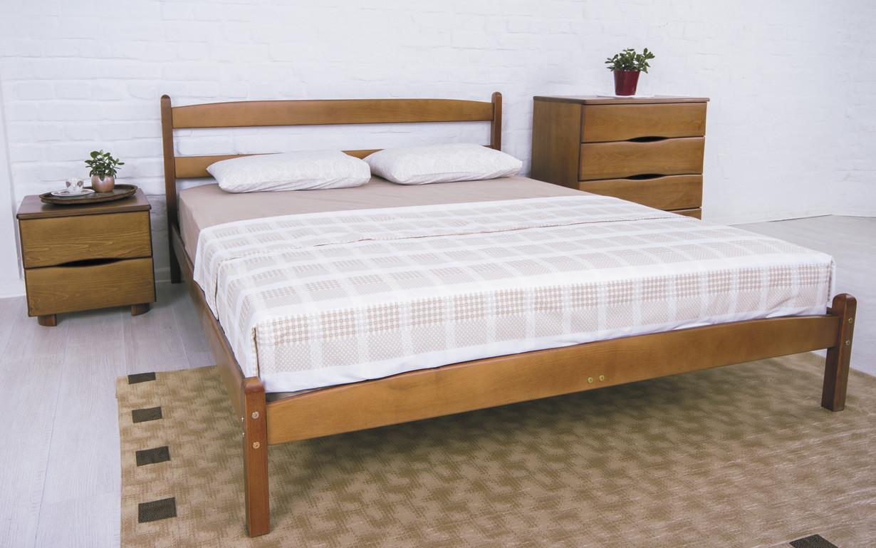 ✅ Деревянная кровать Лика без изножья 80х190 см ТМ Аурель (Олимп)