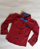 Рубашка детская для мальчика от 1 до 4 лет.
