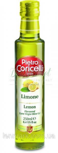 Оливковое масло Pietro Coricelli Limone Extra Virgin с лимоном, 250 мл