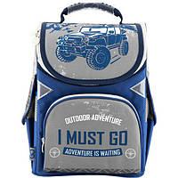 Рюкзак ( ранец ) школьный ортопедический каркасный Kite GoPack ( GO18-5001S-18 ), фото 1