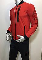 Мужской спортивный костюм Reebok из трикотажа копия