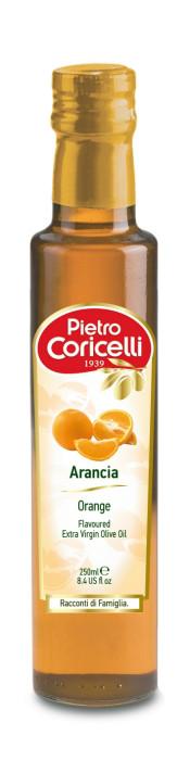 Оливковое масло Pietro Coricelli Arancia Extra Virgin  с апельсином, 250 мл