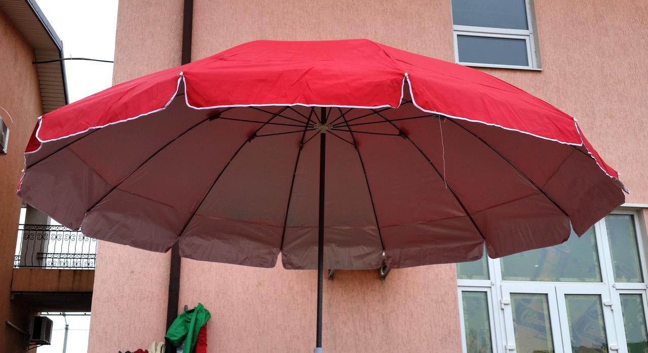 Зонт садовый, торговый, круглый, с напылением, 3.8 м, мод-093