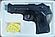 Детский железный пистолет ZM 21 (пластик+металл) размер в пистолет : 15,5 х 11 см, фото 6