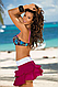 Пляжная юбка с оборками Marko M 334 MILA. Много расцветок, фото 8
