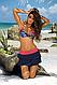 Пляжная юбка с оборками Marko M 334 MILA. Много расцветок, фото 9