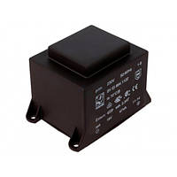 Трансформатор залитый 2 VA 230V/2x9V 32x27x27мм aspro 2x111mA 50Hz Ta=70°C P-CG30-090111-2