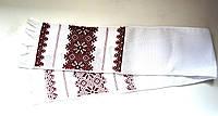 Рушник обрядовый украинский ручная вышивка 1,16 х 0,17