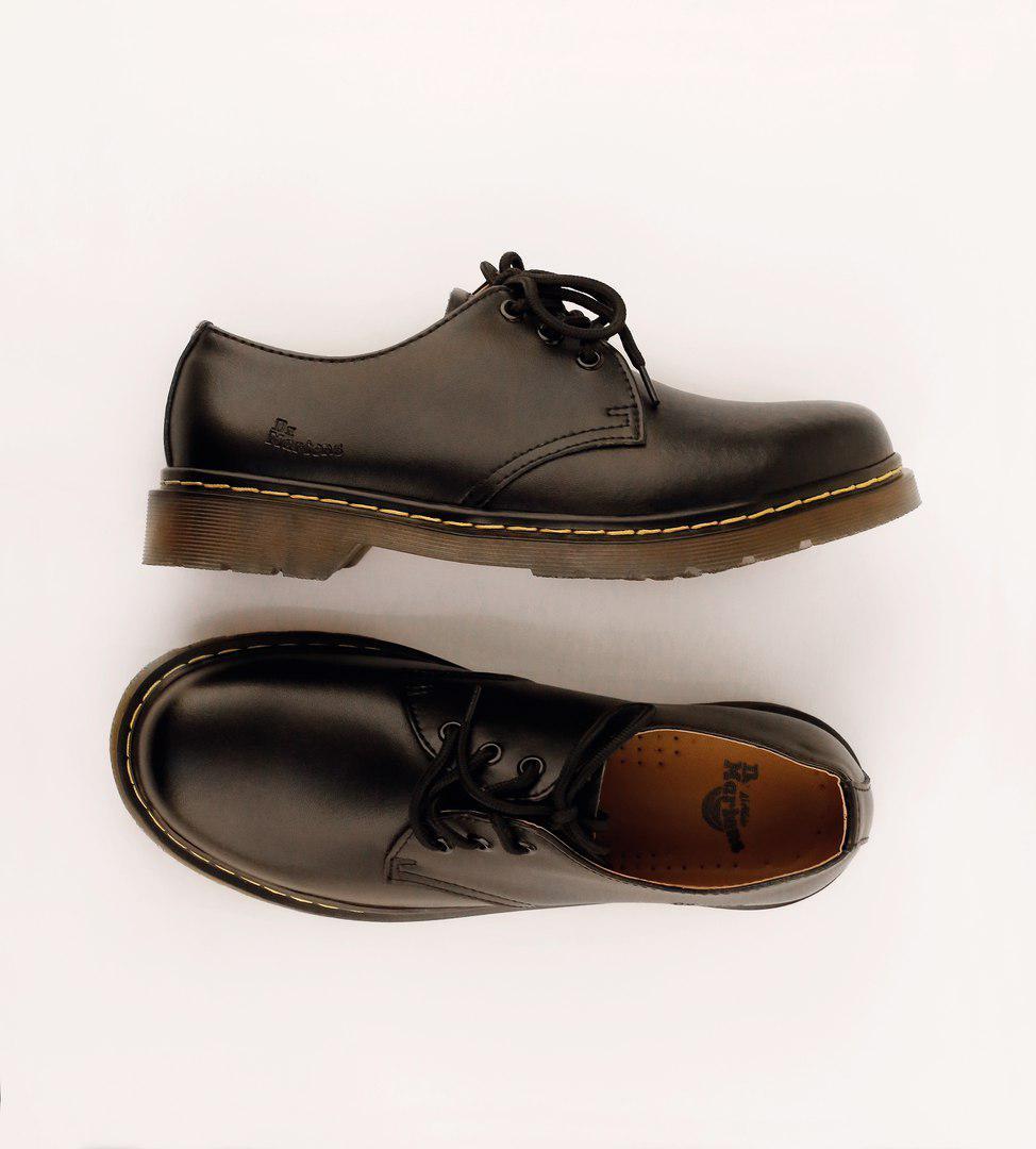 Мужские кожаные полуботинки/туфли в стиле Dr. Martens Original Black 40-46 размер