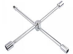 "GROSS Ключ-хрест балонний, складний 17,19,21mm и 1/2"", 406мм, хромов."