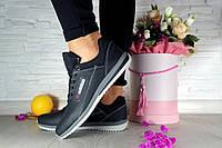 Женские черные кроссовки Adidas 10757 р. 36 37 38 39