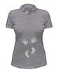 Женская футболка-поло Ручки и ножки, фото 3