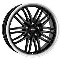 Литые диски Alutec Black Sun racing black lip polished W8.5 R18 PCD5x115 ET40 DIA70.2