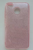 Силіконова накладка Gliter для HUAWEI P8 Lite (2017) (Pink), фото 1