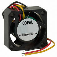 Вентилятор скольжения COPAL Electronics F17HA-05MC 17x17x8 мм 5V