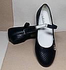 Школьные туфли девочкам, р. 34,35,37, фото 3