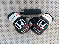Боксерские перчатки в машину на стекло сувенир брелок Honda Type-S