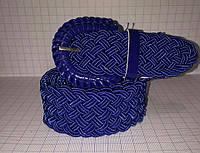 Женский ремень на пояс синего цвета