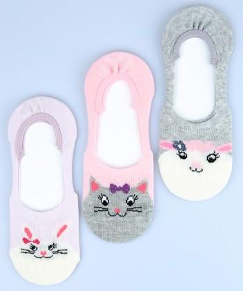 Р. 31-33 ( 7-9 лет ) невидимые носки для девочек