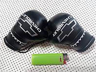 Мини боксерские перчатки в автомобиль CHEVROLET черные