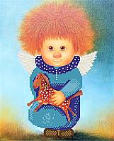 Схема вышивки для бисера Макарушка Ангел Радости