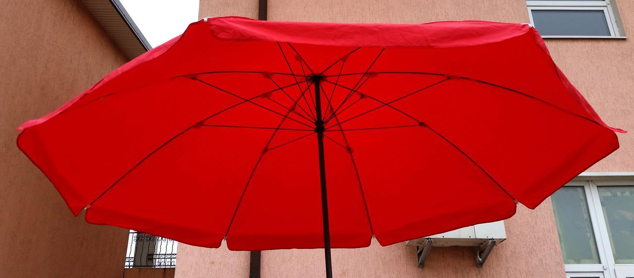 Зонт садовый, торговый, круглый, плотная ткань с ПВХ, 2.8 м, мод-005S