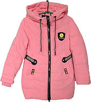 """Куртка подростковая демисезонная """"Minika"""" #1759 для девочек. 7-8-9-10-11 лет. Розовая. Оптом., фото 1"""