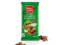 ШоколадFin Carreс фундуком /100г/
