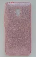 Силиконовая накладка Gliter для Huawei Y5 (2017) (Pink), фото 1