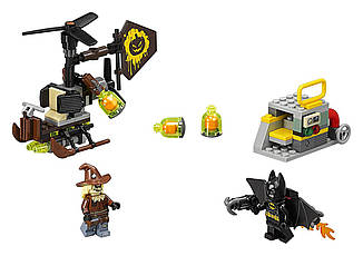 Lego Batman Move Лего Оригинал Схватка Бэтмена с Пугалом Scarecrow Fearful Face-Off 70913