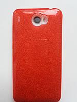 Силиконовая накладка Gliter для Huawei Y5 II /Honor Play 5 (Red)