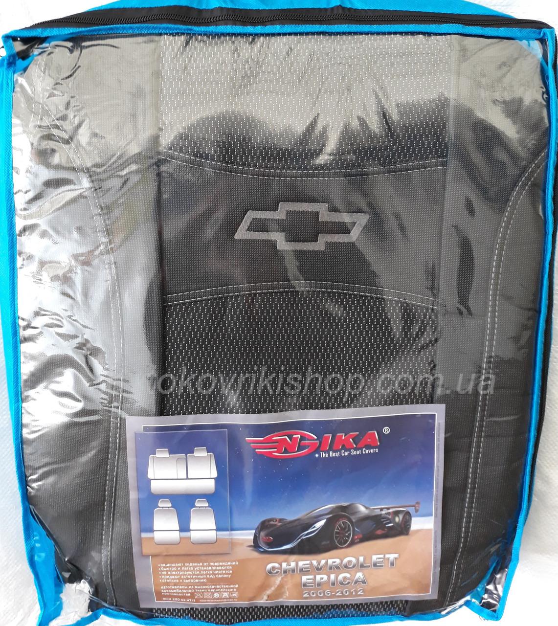 Автомобильные чехлы Chevrolet Epica 2000-2012 Nika