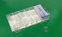 Искусственные ногти, прозрачные(100шт)