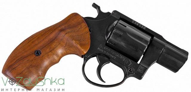 Револьвер ME 38 Pocket 4R с деревянной рукоятью