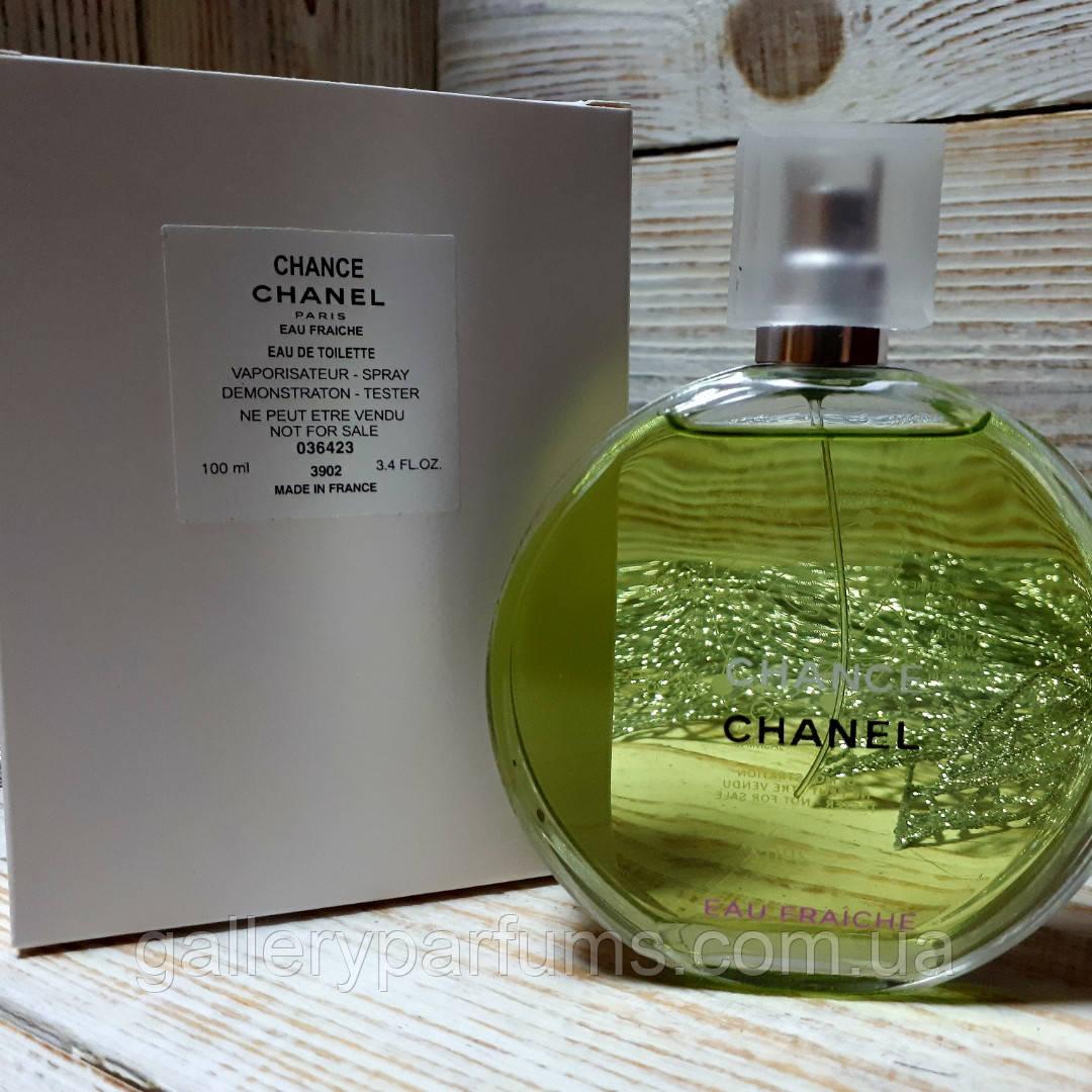 духи тестер Chanel Chance Eau Fraiche Eau De Toilette 100ml цена