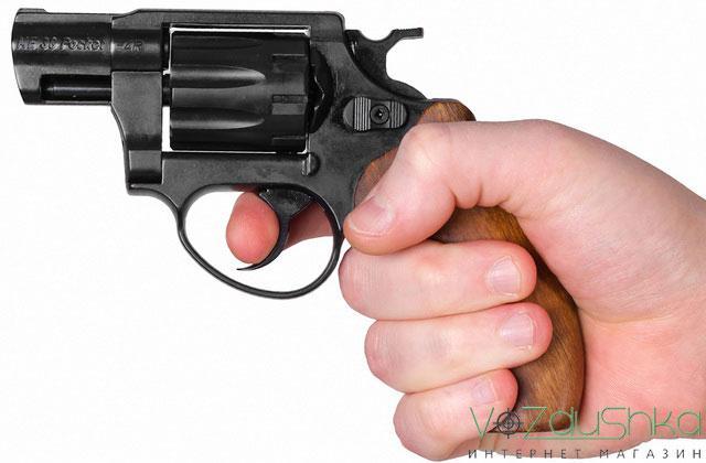 компактный револьвер флобера me-38 pocket 4r