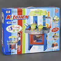 Детская кухня, плита с 2 конфорками подсветка, звук, на батарейке, в коробке. Игровой набор для детей