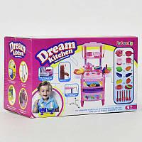 Детская Кухня мечты с посудой, с продуктами, в коробке . Игровой набор для детей