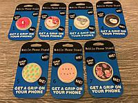 Попсокет для телефонов и планшетов (7 видов)