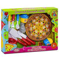 Набор посуды Пицца для детей в коробке FUN GAME. Детская посудка для кухни