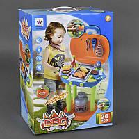 Игровой набор для детей Барбекю свет, звук, в коробке