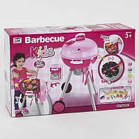Игровой набор для детей Барбекю на батарейке, звук, свет, в коробке