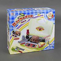 Игровой набор для детей Гриль звук, свет, в чемодане