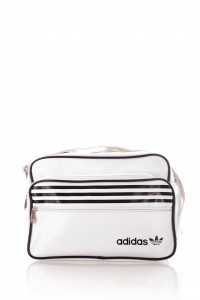 d0b58723f7bd Сумка Adidas через плечо, кожзам №010, белая: продажа, цена в ...