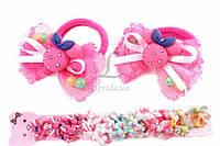 Резинка детская Anagallis для волос с Minnie и бантиком  (разноцветная), резинка с героями Дисней, резинка для девочек, аксессуары для создания