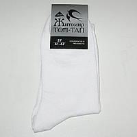 Мужские носки ТОП-ТАП - 7.00 грн./пара (стрейч, белые), фото 1